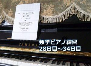 「いい日旅たち」初級編を演奏~ピアノ初心者の練習日記