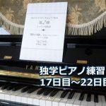 「なごり雪」初級編を演奏~ピアノ初心者の練習日記