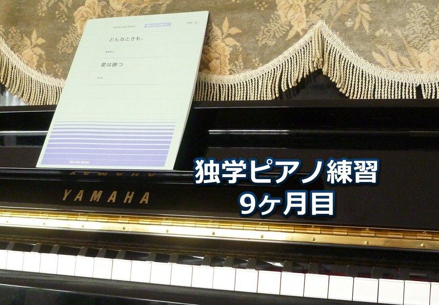 「愛は勝つ」中級編を演奏~独学ピアノ練習雑記