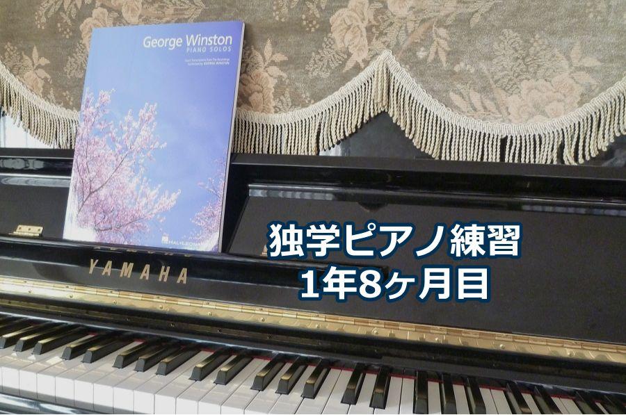 「カノン」ジョージ・ウインストン編を演奏~独学ピアノ練習雑記